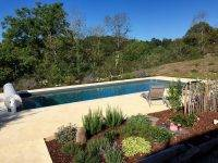 millette pool garden